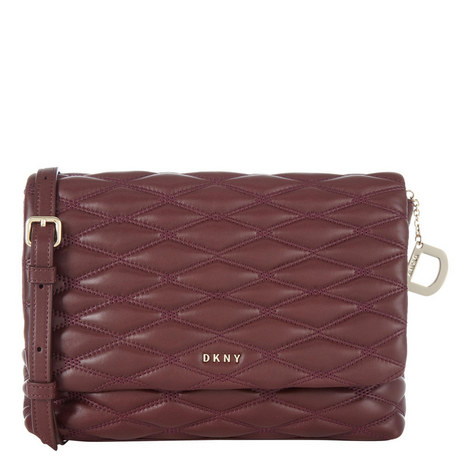 Quilted Flap Crossbody Medium, ${color}