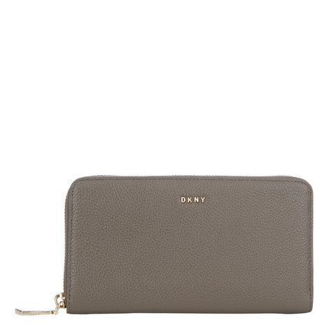 Chelsea Pebbled Leather Wallet Large, ${color}