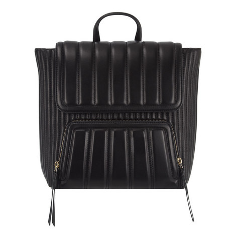 Gansevoort Quilted Leather Backpack, ${color}