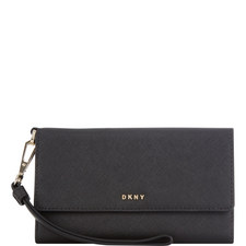 Bryant Park Leather Wristlet
