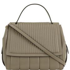 Gansevoort Pinstripe Top Handle Bag