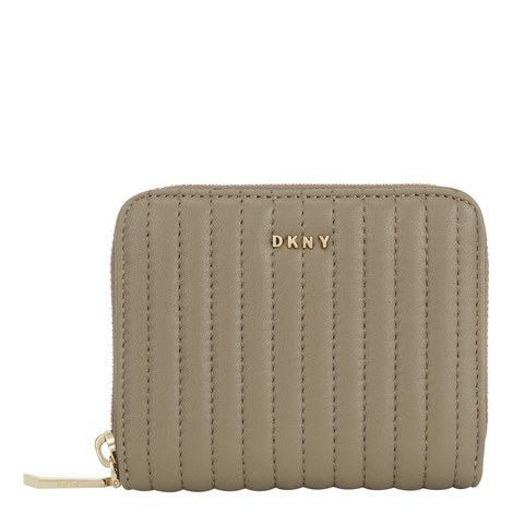 Gansevoort Pinstripe Quilted Wallet Small, ${color}