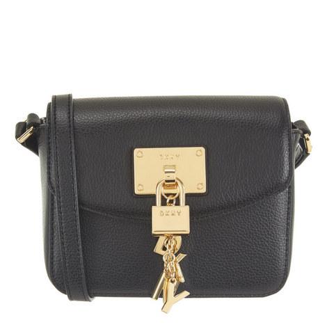 Elissa Leather Flap Crossbody, ${color}