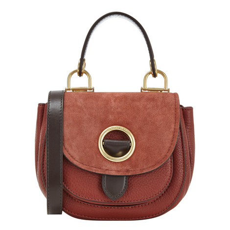 Isadore Messenger Bag Small, ${color}