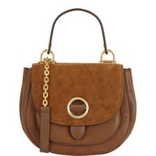 Isadore Suede Saddle Bag Medium