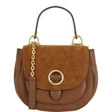 Isadore Suede Saddle Bag Medium