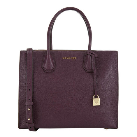 Mercer Bonded Leather Tote, ${color}