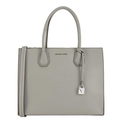 Mercer Bonded Leather Tote Large, ${color}