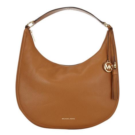 Lydia Hobo Bag Large, ${color}