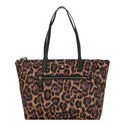 Kelsey Leopard Print Tote Bag Large , ${color}