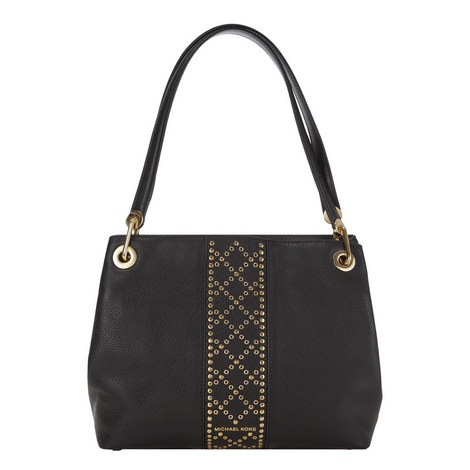 Raven Grommet Detail Tote Large , ${color}