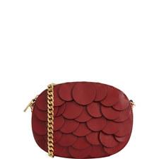 Ginny Sequin Leather Crossbody Bag