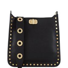 Jenkins Studded Sullivan Messenger Bag