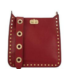 Jenkins Studded Sullivan Messenger Bag
