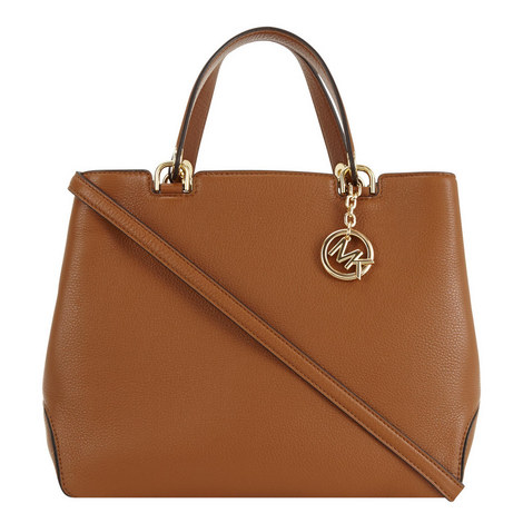 Anabelle Top Zip Tote Large, ${color}
