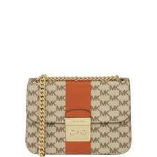 Stripe Sloan Crossbody Bag Medium