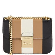Sloan Stripe Crossbody Bag Medium
