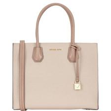 Mercer Bonded Leather Bag Large