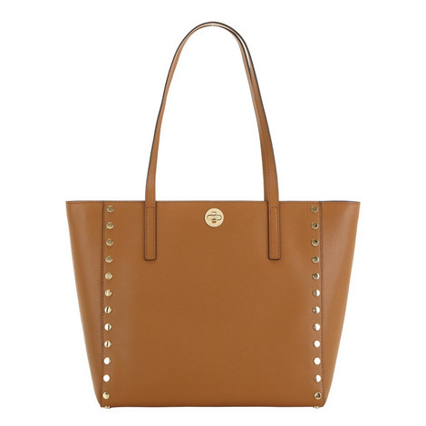 Rivington Studded Tote Large, ${color}