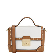 Corey Travel Trunk Leather Bag Small