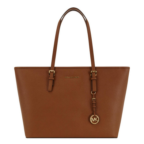 Jet Set Top Zip Tote Medium , ${color}