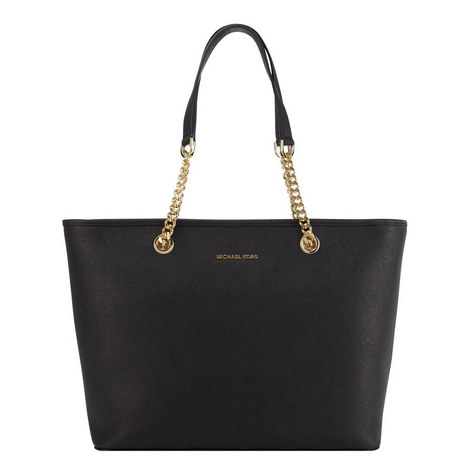 Jet Set Medium Chain Tote, ${color}
