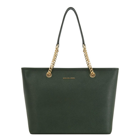 Jet Set Travel Chain Tote, ${color}