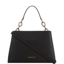 Portia Leather Shoulder Bag Large
