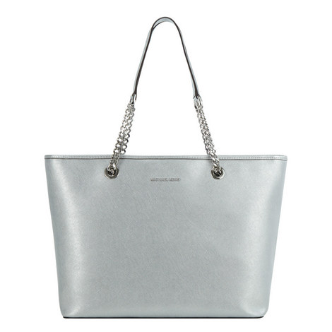 Jet Set Chain Tote Medium, ${color}