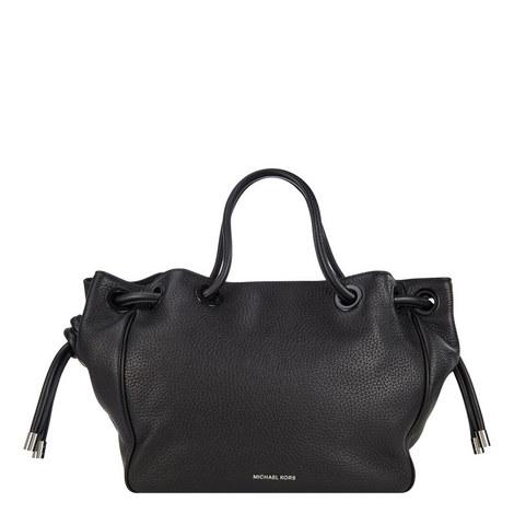 Dalia Leather Shoulder Bag, ${color}
