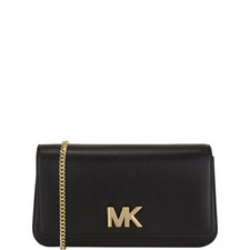 Mott Large Leather Clutch