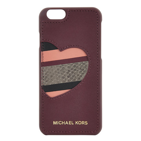 Heart Print iPhone 6 Case, ${color}