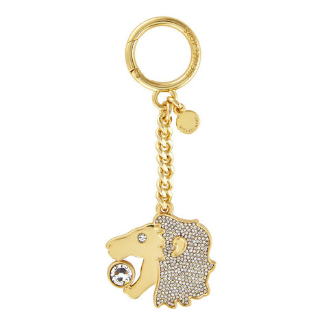 Leo Zodiac Bag Charm, ${color}