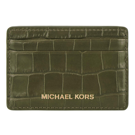 Croco Leather Cardholder, ${color}