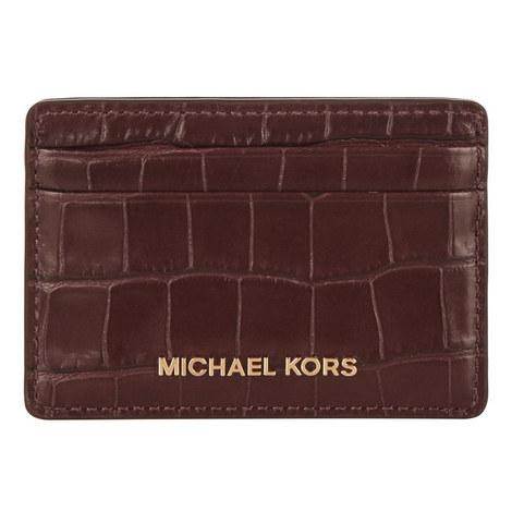 Croco Leather Cardholder, ${color}