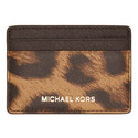 Jet Set Leopard Print Cardholder, ${color}