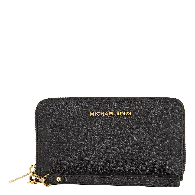 d599c7cf60 MICHAEL KORS Saffiano Leather Phone Case | Brown Thomas