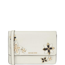 Flowers Daniella Flap Crossbody Bag