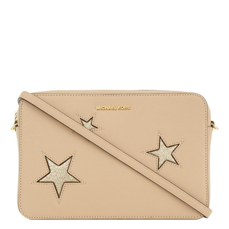 Glitter Stars Crossbody Bag, ${color}
