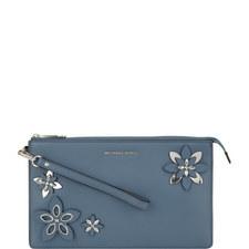 Flowers Daniella Wristlet Bag