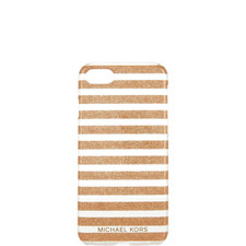 Glitter Stripe iPhone Case