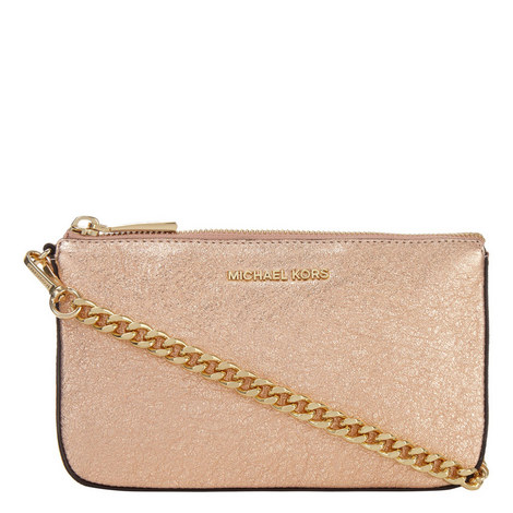 Metallic Chain Pouch, ${color}