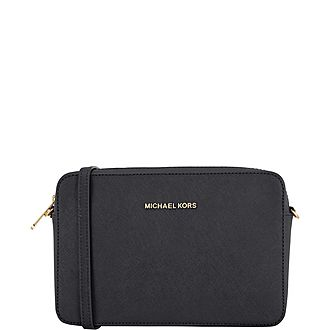 9285cf122421 MICHAEL MICHAEL KORS Brooke Large Shoulder Bag €395.00 · Jet Set East West  Crossbody