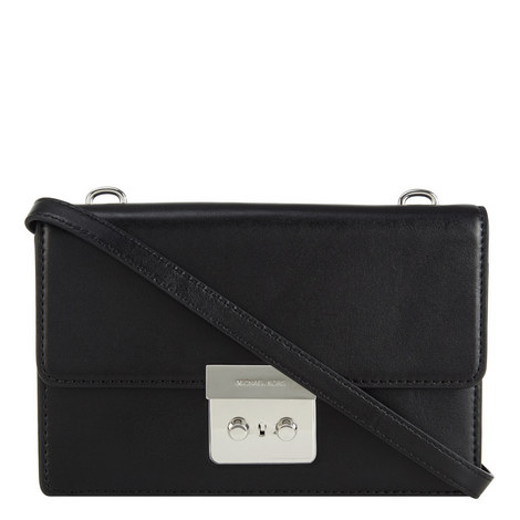 Sloan Leather Crossbody Small, ${color}