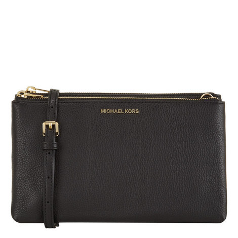 7ae6811da0e14f Adele Double Zip Crossbody Bag