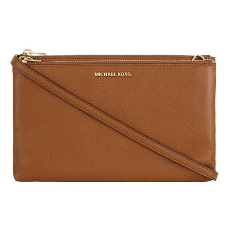 Adele Double Zip Crossbody Bag, ${color}