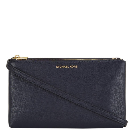 Adele Double Zip Crossbody Bag, ${color}