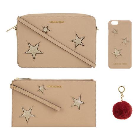 4 Piece Glitter Stars Gift Set, ${color}