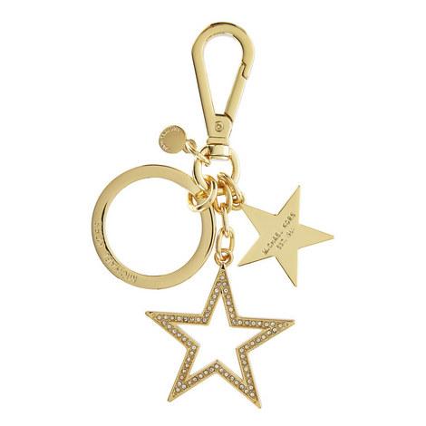Star Charm Keyring, ${color}