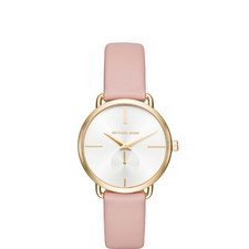 Portia Leather Watch